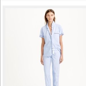 J Crew Vintage Pajama Top Size M